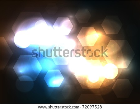 EPS10 vector blur background for your design - stock vector