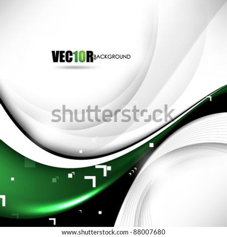 eps10 vector chrome metallic futuristic abstract design - stock vector