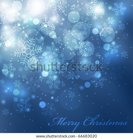EPS10 Vector colorful christmas background - stock vector
