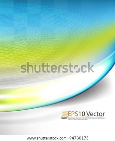 eps10 vector colorful elegant design - stock vector