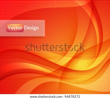 Eps10 Vector Colorful Modern Background Design for your Business - stock vector
