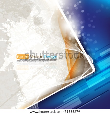 eps10 vector corporate abstract background in two colors - stock vector