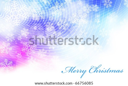 EPS10 Vector elegant christmas background - stock vector