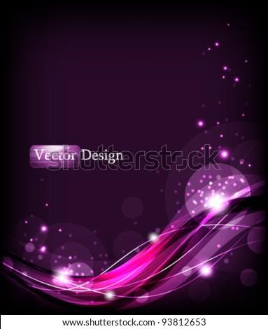 Eps10 Vector Elegant Concept Background Design - stock vector