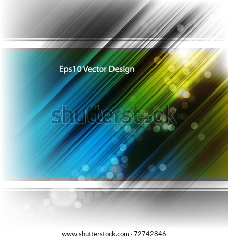 eps10 vector futuristic two color background - stock vector