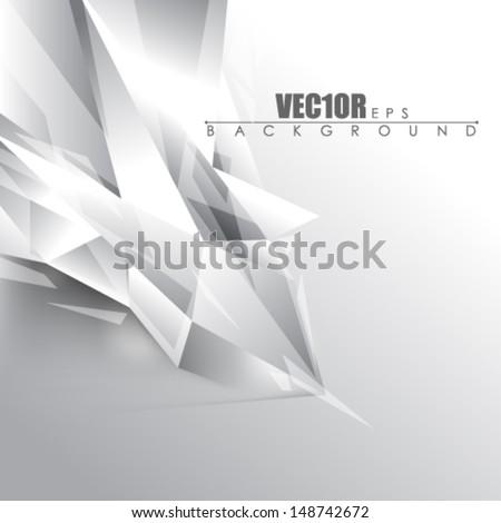 eps10 vector glass concept design - stock vector