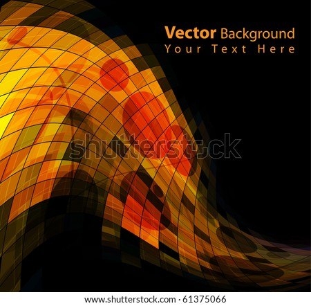 EPS10 Vector grungy background - stock vector
