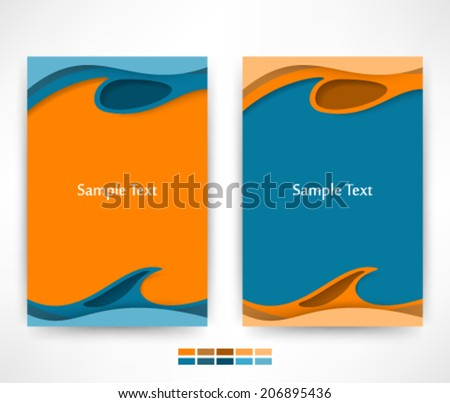 Eps10 Vector Modern Abstract Design for your business - stock vector