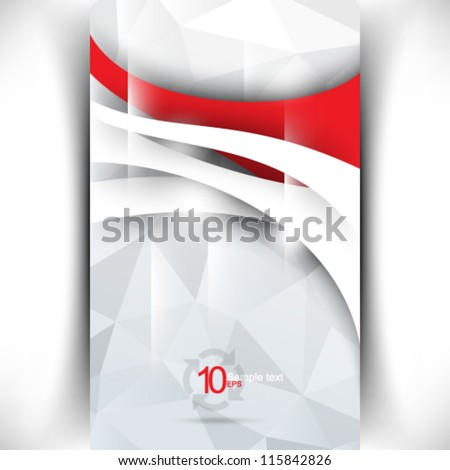eps10 vector modern corporate concept illustration - stock vector