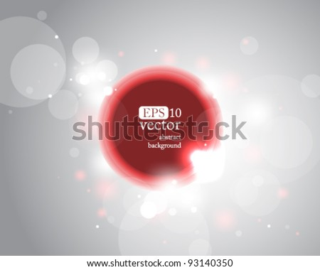 Eps10 Vector Modern Design Abstract Background - stock vector