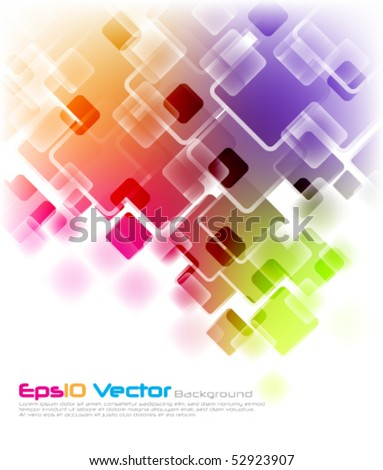 eps10 vector multicolor background - stock vector