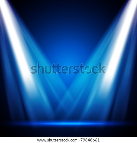 EPS10 Vector Stage Lights - stock vector
