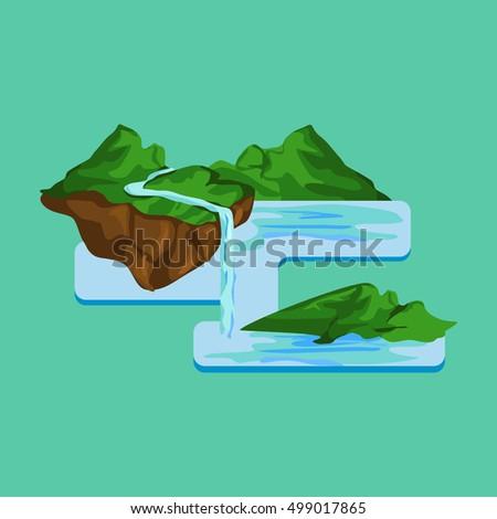 Erosion Diagram Stock Vector 499017865 Shutterstock