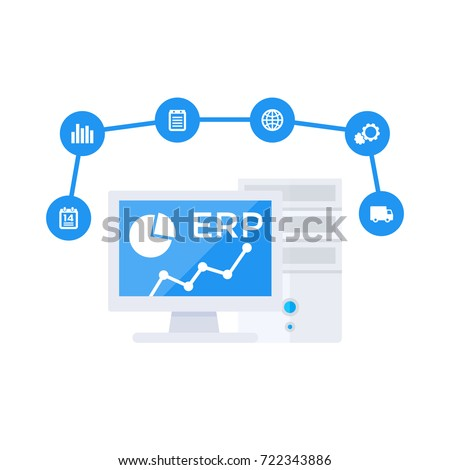 Erp Stock Images Royalty Free Images Vectors Shutterstock: vector image software
