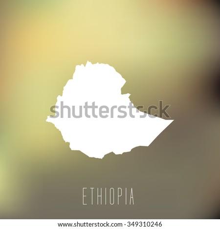 Ethiopia - stock vector