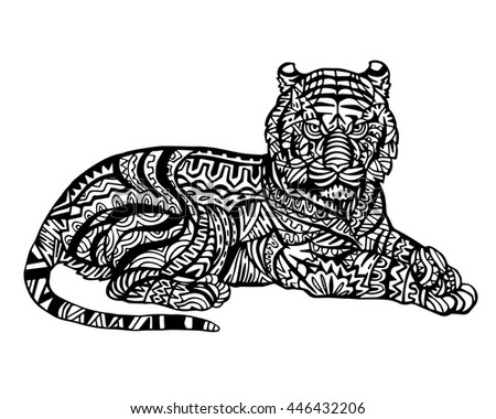 Adult Tiger Stock Photos Images Amp Pictures Shutterstock