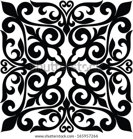 Ethnic ornament - stock vector