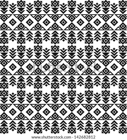 ethnic pattern - stock vector