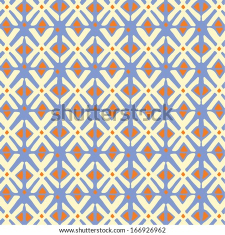 Ethnic pattern. Abstract fabric design. - stock vector
