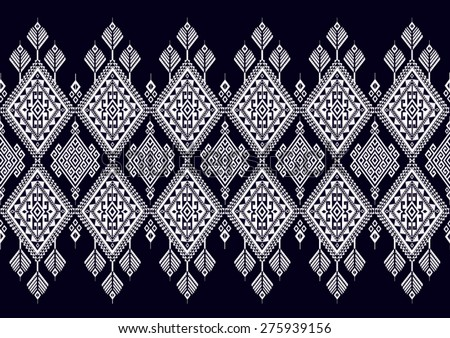 Ethnic pattern for background. - stock vector