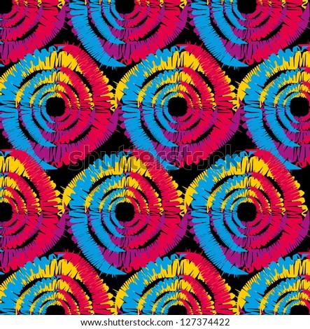 ethnic pattern vector art - stock vector