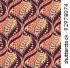 Ethnic seamless pattern - stock vector