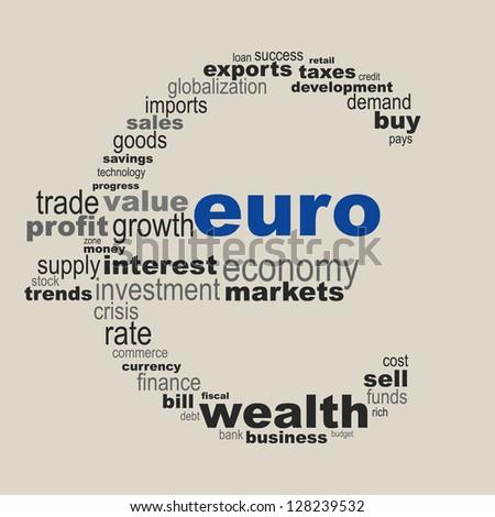 Euro concept - stock vector