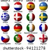 Euro 2012 Group Light - stock vector