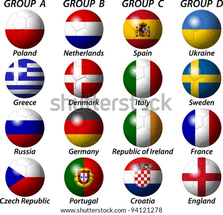 Euro 2012 Group Light