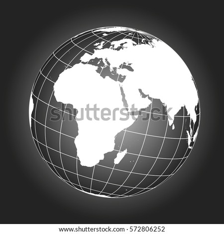 Europe africa map europe africa russia vectores en stock 357416996 europe and africa map europe africa russia asia north pole gumiabroncs Images
