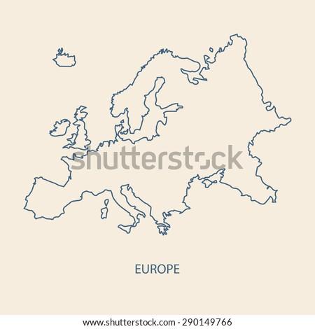 Latvia Map Outline Stock Images RoyaltyFree Images Vectors - Latvia map outline