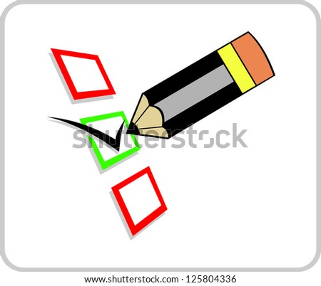 Evaluation - stock vector