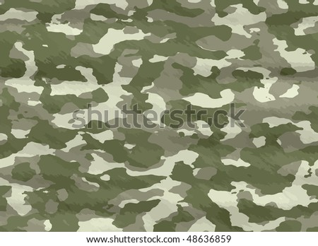 excellent background vector illustration of disruptive  camouflage material - stock vector