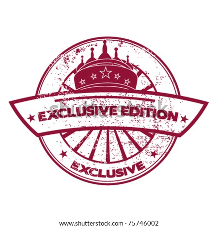 exclusive edition stamp