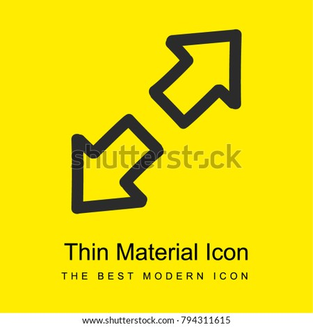 expand hand drawn interface symbol two stock vector 794311615