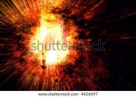 Explosion... BOOM!!!! - stock vector