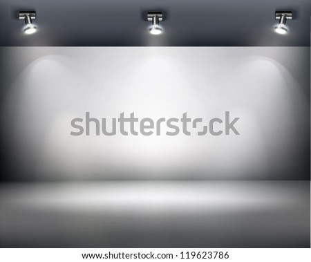 Exposition. Vector illustration. - stock vector