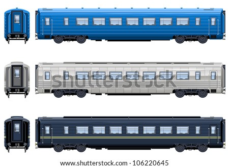 Express Train Coach Train 8 Pixel Stock Vector 106220645 ...