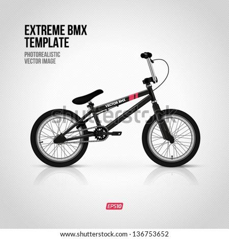 bmx bike stock images royalty free images vectors shutterstock. Black Bedroom Furniture Sets. Home Design Ideas