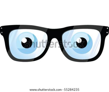 Eye Glasses - stock vector