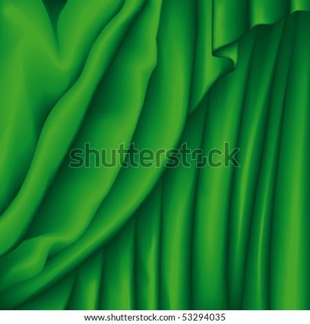 Fabric - stock vector