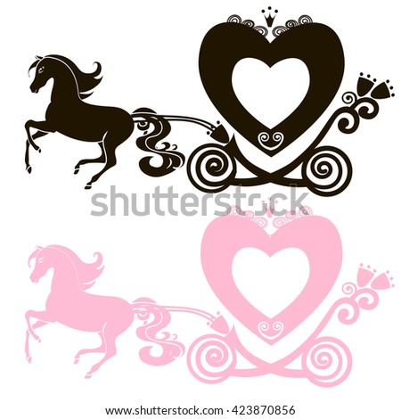 Princess Carriage Stock Images Royalty Free Images