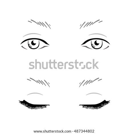 Facechart Banco de im genes Fotos y vectores libres de derechos – Eye Chart Template