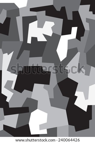 faces - abstract vector illustration