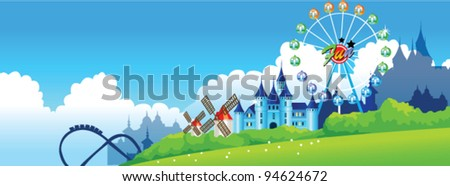 Fair - stock vector