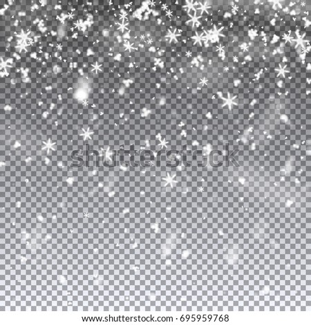 falling snowflakes snow vector illustration on stock vector royalty