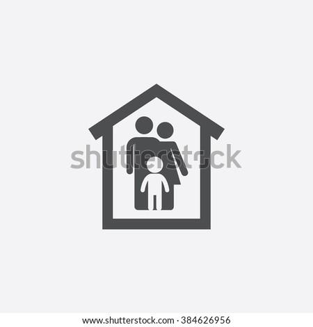 family Icon. family Icon Vector. family Icon Art. family Icon eps. family Icon Image. family Icon logo. family Icon Sign. family Icon Flat. family Icon design. family icon app. family icon UI simple - stock vector