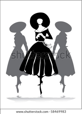 1950s Fashion Stock Images Royalty Free Images Amp Vectors