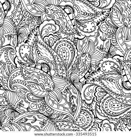 Paisley Designs Coloring Book Download - Worksheet & Coloring Pages