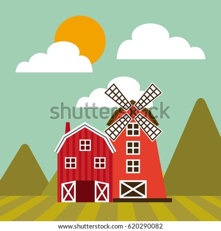 farm barn clip art. Farm Barn Design Clip Art